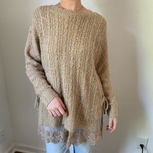 Oversized Altar'd State Knit Sweater
